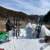 スキー試乗会開催中!の画像