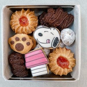 \♡スヌーピークッキー缶、試作しました♡/の画像