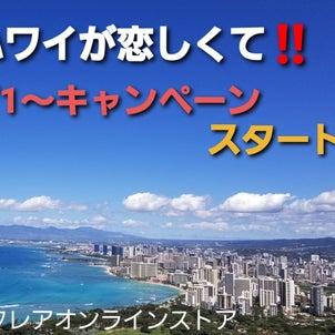 「ハワイが恋しくて」キャンペーン、いよいよスタート!の画像