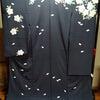 桜の着物と帯の画像