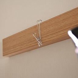 画像 ★無印「壁に付けれる家具」でコート・バックの一時置きに♪ の記事より 16つ目
