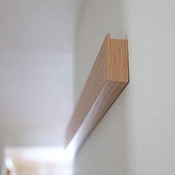 画像 ★無印「壁に付けれる家具」でコート・バックの一時置きに♪ の記事より 14つ目