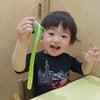 小松菜に触ってみました!の画像