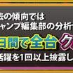 4月15日(木)【速報】チャンピオンローテーション7_ミクちゃんガイアアリーナ