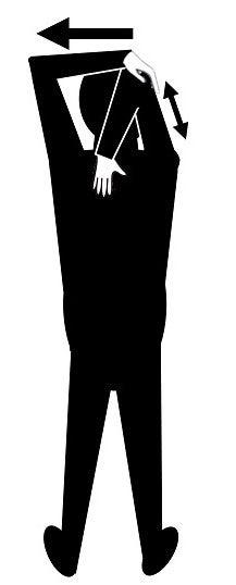 上腕三頭筋・二の腕・リンパマッサージ