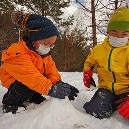 画像 3学期~節分、60kmロングウォークゴール!そして冬キャンプは雪遊び!年長さんはご飯炊き試験!! の記事より 24つ目