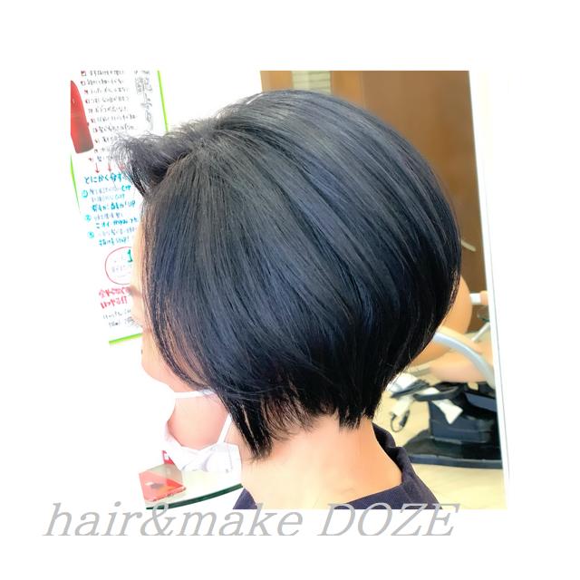 ショートこそ髪質改善プレミアムトリートメントを!
