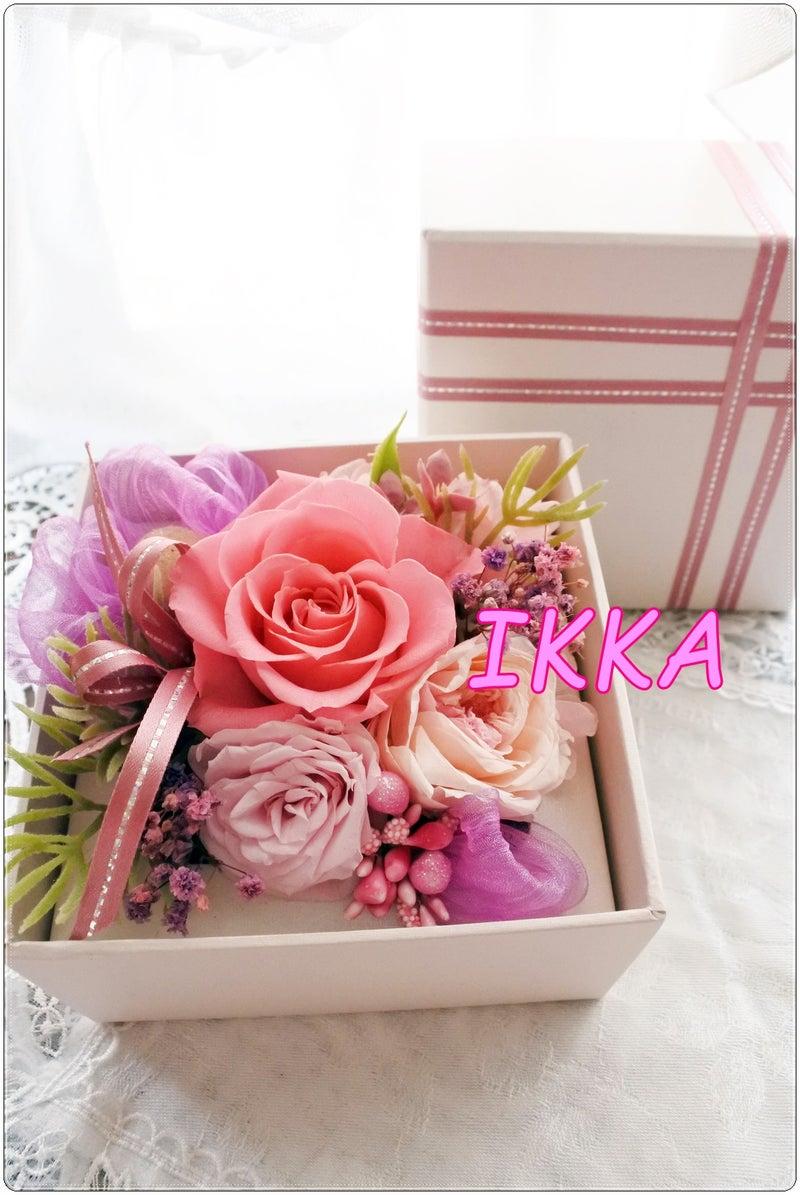 プリザーブドフラワー ボックスアレンジメント boxアレンジ フラワーギフト お花の贈り物 プリザーブドフラワーアレンジ 贈り物 記念品 神戸 オーダー