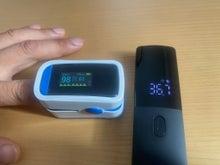 体温オキシメーター測定