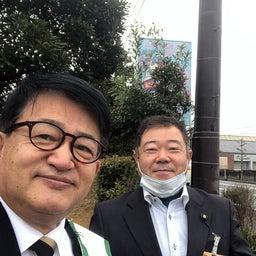 画像 小寺ひろお衆議院議員と日野町役場前で辻立ちをしました の記事より 1つ目