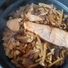 最後のランチ 炊き込みご飯の画像