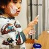ニベアの青缶でたっぷり保湿の4歳児の画像