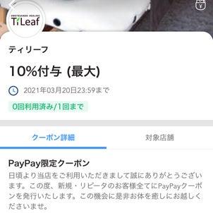 PayPayクーポン掲載中!の画像