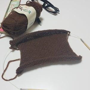 編み始めホゥ!の画像