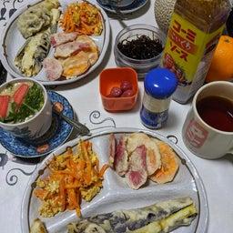 画像 野菜天ぷら、人参シリシリ、茶碗蒸し の記事より 2つ目