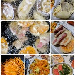 画像 野菜天ぷら、人参シリシリ、茶碗蒸し の記事より 1つ目