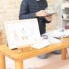 インクについて2☆安全安心なインクって? 手形 バースデー 誕生日 1歳 ハーフバースデの画像