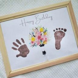 画像 【募集開始】★7月28日★プライムツリー★ 手形アート時計 名古屋 誕生日 手形アート 足形 の記事より 11つ目