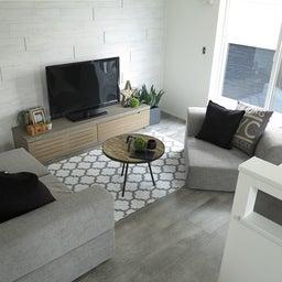 画像 マンションの家具の配置提案 ④ リビングと隣接する洋室とつなげて家具を配置!家具の配置換え提案も の記事より 12つ目