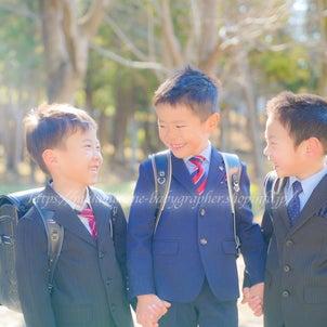 【卒園おめでとう!ともフォト2021】茨城牛久市3人組boysの画像