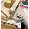予想の3分の1の速さで組み立てた長女の学習机の画像