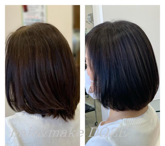 ドーゼの髪質改善プレミアムトリートメント丸みスタイル得意です!!!