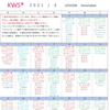 KWS®︎レッスンスケジュール【2021年4月】ご予約開始は3月14日(日)10:00~の画像