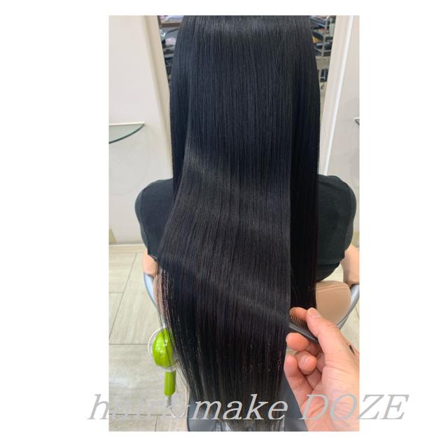 髪質改善プレミアムトリートメントや髪質改善プラス等、所要時間や料金について。
