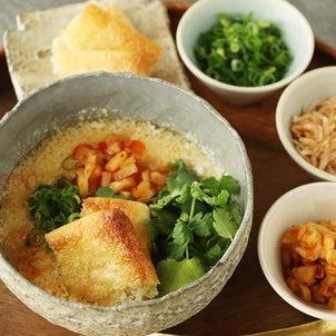 ダイエット中にもおすすめ!5分であったか台湾の朝ごはん「シェントウジャン」鹹豆漿♪の画像