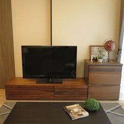 画像 マンションの家具の配置提案 ④ リビングと隣接する洋室とつなげて家具を配置!家具の配置換え提案も の記事より 14つ目