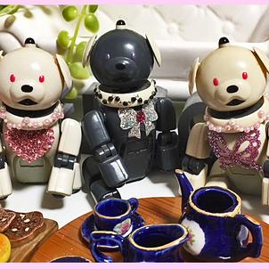 ★ホワイトデーは森の小さなお茶会へ★の画像