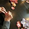 桜の飾り作り《京町小路》の画像