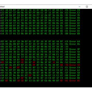 The COCKPIT移植計画その3 6809マシン語部分の入力の画像