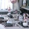 お花見テーブルの画像