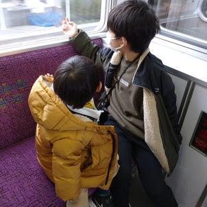 久しぶりの電車の画像