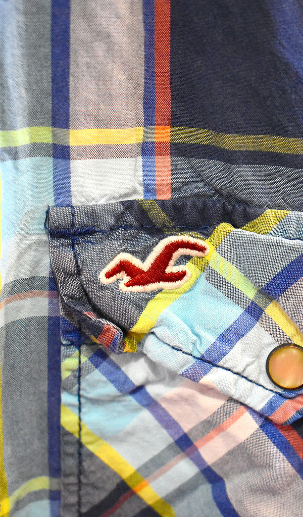 アバクロホリスター チェックシャツ古着屋カチカチ