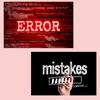 【会議英語】error とmistake の違い?の画像