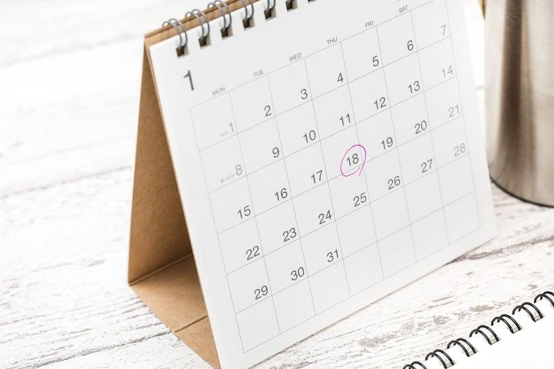 インテリアコーディネート依頼 営業カレンダー