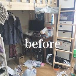 画像 【BEFORE】床にものを置いてしまう子供部屋がこんなにスッキリ!【AFTER】 の記事より 2つ目