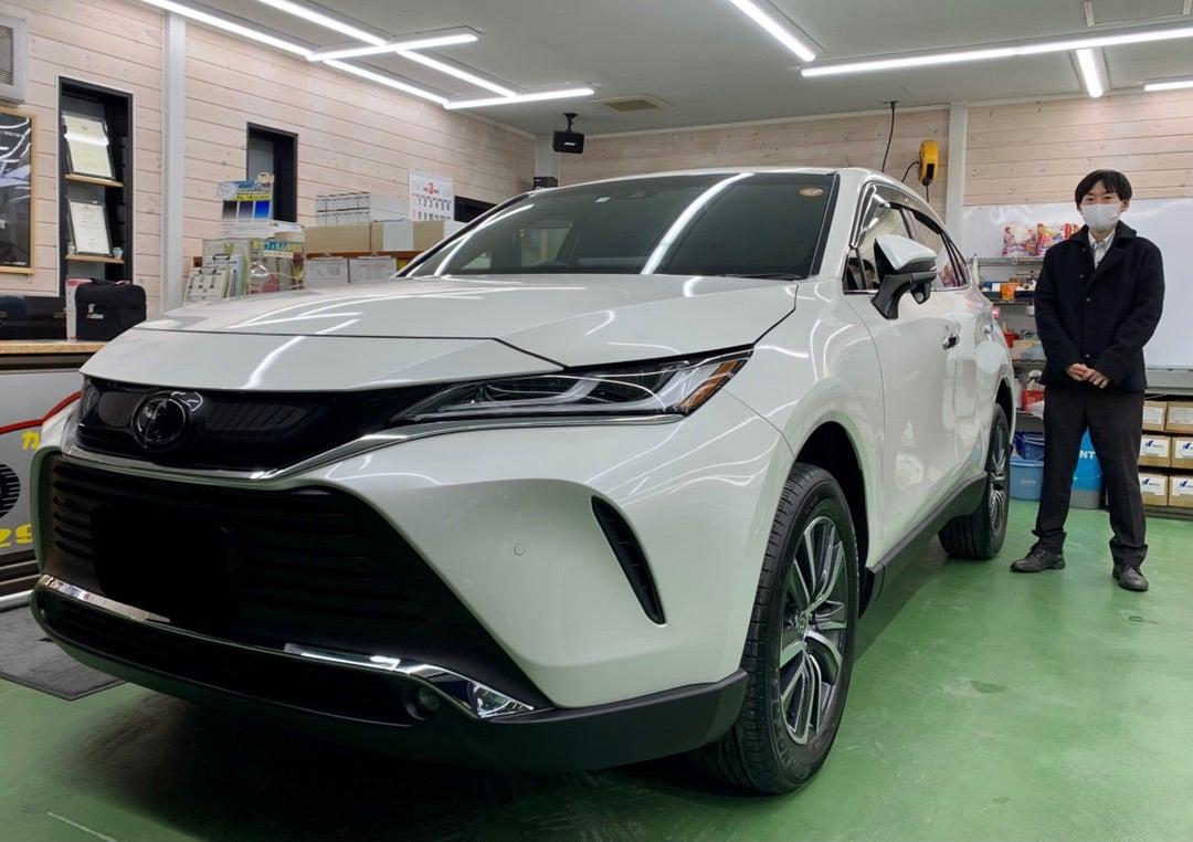 トヨタ ハリアー新車 リアルガラスコートclassH施工