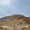 死海からの帰り道 パレスチナ地区を通って帰ってきましたの画像