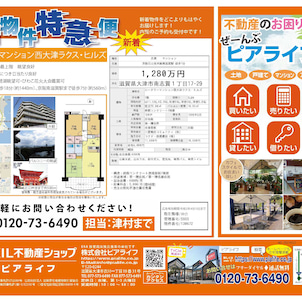 物件チラシ★新着物件特急便の画像