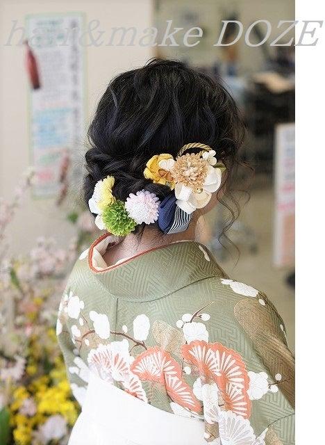 大学生の袴スタイル♡