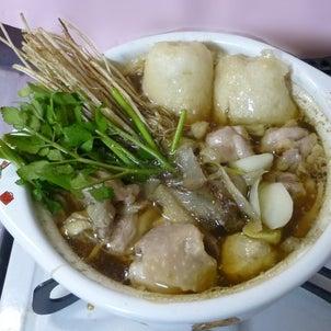 食う・1729 秋田比内地鶏 きりたんぽ鍋 (本家あべや)の画像