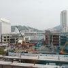 今朝の広島駅の画像