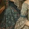 袖のあるウェディングドレスの視覚的効果の画像