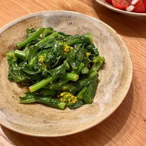 菜の花のわさび醤油和えの画像