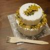 〇オーダー作品〇アロマドリップキャンドルケーキ フェイクケーキ クレイ 誕生日 1歳 ハの画像