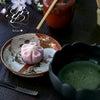 桜練り切り&夜桜の画像