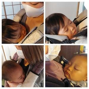 楽々抱っこで、あっという間に寝かしつけ(*^-^*)の画像